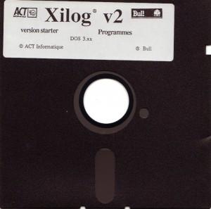 XILOG-diskette